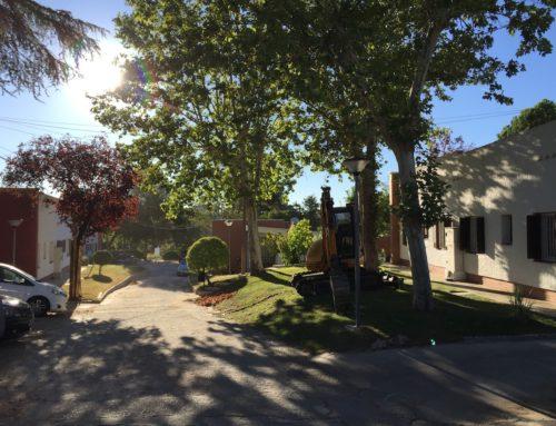 Fases 2 y 3 de la rehabilitación parcial de las zonas comunes de la Colonia Valderribas en Madrid