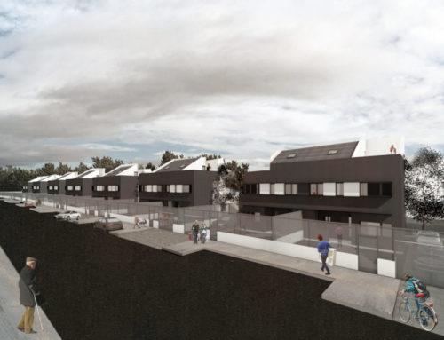 Anteproyecto de 14 viviendas unifamiliares pareadas