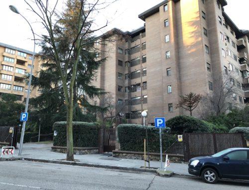 Rehabilitación de las zonas comunes en calle Nuria nº93 de Madrid
